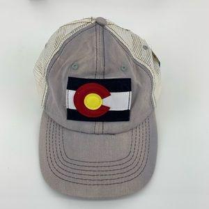 Colorado Big C Gray Hat NWT